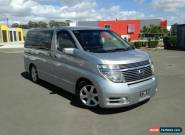 2004 Nissan Elgrand E51 Highway Star Silver Automatic 5sp A Wagon for Sale