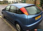 2003 FORD FOCUS CL BLUE 1.4 cheap car spares or repair  for Sale