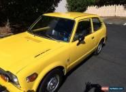 1975 Honda Civic for Sale