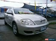2005 Toyota Corolla ZZE122R Ascent Silver Automatic 4sp A Sedan for Sale