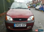 2002 FORD FIESTA FREESTYLE RED 1.2 PETROL for Sale