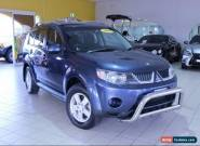 2009 Mitsubishi Outlander ZG MY09 LS Blue Automatic 6sp A Wagon for Sale