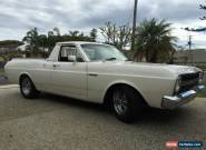 XR FORD FALCON 500 1967 V8 UTE for Sale