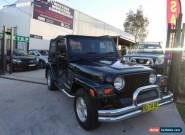 1999 Jeep Wrangler TJ Renegade (4x4) Black Automatic 3sp A Hardtop for Sale