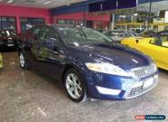 2008 Ford Mondeo MA Tdci Blue Automatic 6sp A Hatchback for Sale