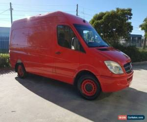 Classic 2008 Mercedes-Benz Sprinter 906 311 CDI LWB Red Automatic 5sp A Van for Sale