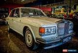 Classic 1988 Rolls-Royce Silver Spirit Pearl White Automatic 3sp A Sedan for Sale