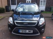 2010 FORD KUGA ZETEC TDCI BLACK for Sale