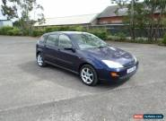 1999 FORD FOCUS LX BLUE 5 DOOR 1.6 for Sale