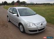 2009 VOLKSWAGEN POLO 1.4 BLUEMOTION 2 TDI A/C SILVER - CAT D for Sale