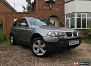 2006 BMW X3 SPORT AUTO * FSH * 2.5 for Sale