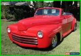 Classic 1946 Ford Super Deluxe 2 Door Convertible Coupe for Sale