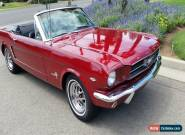 1965 Ford Mustang Convertible A code  for Sale