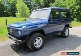 Classic 1983 Mercedes-Benz G-Class for Sale