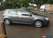 2007 VOLKSWAGEN GOLF GT TDI GREY for Sale