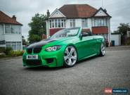 2007 BMW 335i SE Convertible Manual - Modified Stance Lowered 1M M3 E93 (CAT D) for Sale