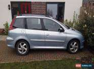 peugeot 206 d turbo hdi estate 2.0 2003 12 mths mot  for Sale
