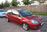 Classic 2007 FORD FIESTA ZETEC CLIMATE S-A RED for Sale
