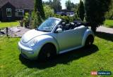 Classic VW Beetle cabriolet  2004 silver 1.6 for Sale