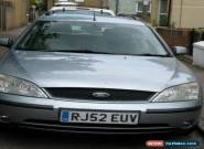 2003 FORD MONDEO GHIA TDCI SILVER- Spares or repair for Sale