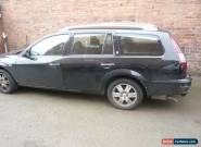 2005 FORD MONDEO GHIA TDCI 130 BLACK spares or repair for Sale