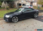 2014 Audi A5 S Line Premium Plus Pkg for Sale