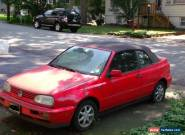 1996 Volkswagen Cabrio for Sale