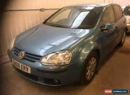 2006 VOLKSWAGEN GOLF TDI DIESEL SE AUTO AUTOMATIC,BLUE, FVWSH, NEW MOT, VALETED for Sale