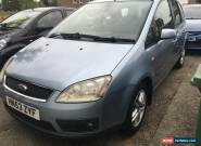 2003 FORD FOCUS C-MAX ZETEC SILVER for Sale