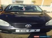Black VW Golf mk5 2005 4 door for Sale