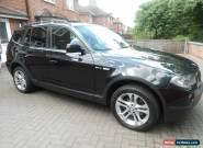 2009 BMW X3 2.0D SE BLACK for Sale