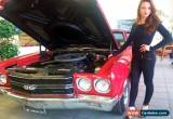 Classic 1970 Chevrolet Chevelle LS6 Coupe for Sale