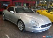 2001 Maserati 3200 GT Silver Automatic 4sp A Coupe for Sale