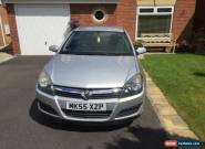 2005 VAUXHALL ASTRA CLUB AUTO SILVER for Sale