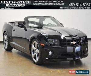 Classic 2011 Chevrolet Camaro 2SS Convertible for Sale