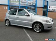2000 VOLKSWAGEN POLO GTI 1.6 16V 5 Door Hatchback. Metallic SILVER for Sale