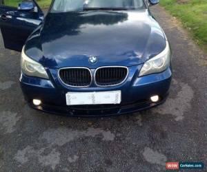 Classic 2004 BMW 530D SE AUTO BLUE for Sale