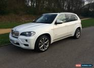 2010 BMW X5 XDRIVE 35D MSPORT 7S A WHITE for Sale