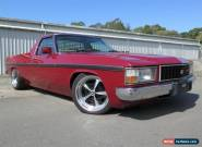 1980 Holden WB V8 308 Maroon Automatic A Utility for Sale