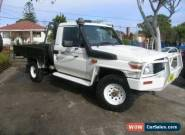 2010 Toyota Landcruiser VDJ79R 09 Upgrade GX (4x4) White Manual 5sp M for Sale