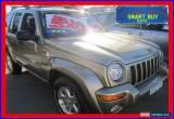 Classic 2004 Jeep Cherokee KJ MY05 Upgrade Limited (4x4) Khaki Automatic 4sp A Wagon for Sale