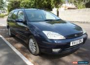 Ford Focus 1.8 Ghia Estate Petrol Manual 2002 for Sale