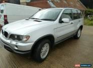 2003 BMW X5 D AUTO SILVER for Sale
