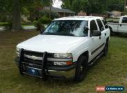 2006 Chevrolet Tahoe PPV Police Persuit Vehicle for Sale