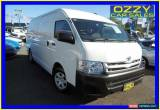 Classic 2013 Toyota Hiace KDH221R MY12 Upgrade SLWB White Automatic 4sp A Van for Sale