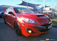 2010 Mazda 3 BL MPS Luxury Red Manual 6sp M Hatchback for Sale