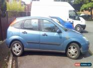 FORD FOCUS 1.8 petrol 90K miles, 8 months MOT * NEEDS CLUTCH - spares or repair  for Sale