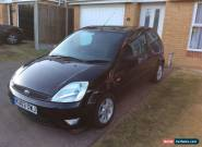 2003 FORD FIESTA 1.4 ZETEC 3 DOOR BLACK for Sale