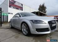 2008 Audi TT 8J 2.0 TFSI Silver Automatic 6sp A Coupe for Sale