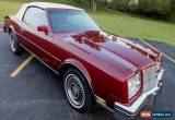 Classic 1985 Buick Riviera Special Edition Convertible for Sale